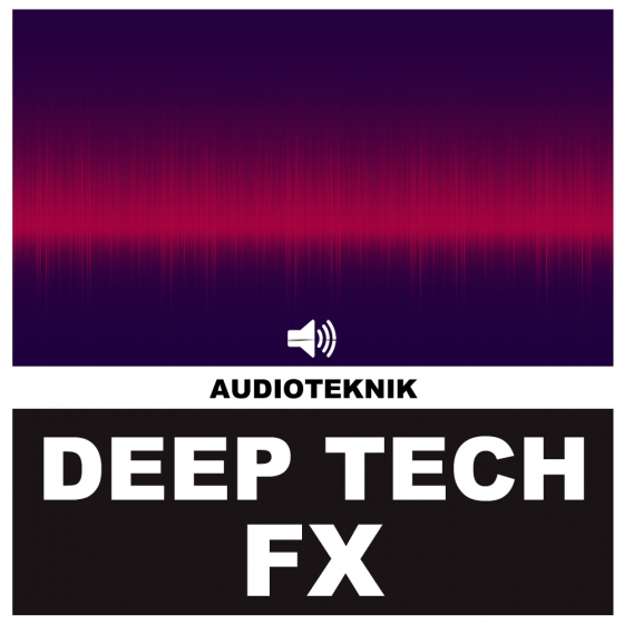 Audioteknik Deep Tech House FX WAV-AUDIOSTRiKE